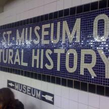 AMNH Subway stop