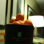 makeshift hotel room fruit bowl - 13 feb 2012