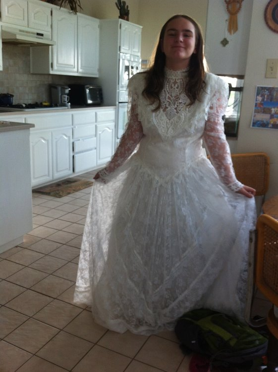 wedding dress - 16 jul 2012