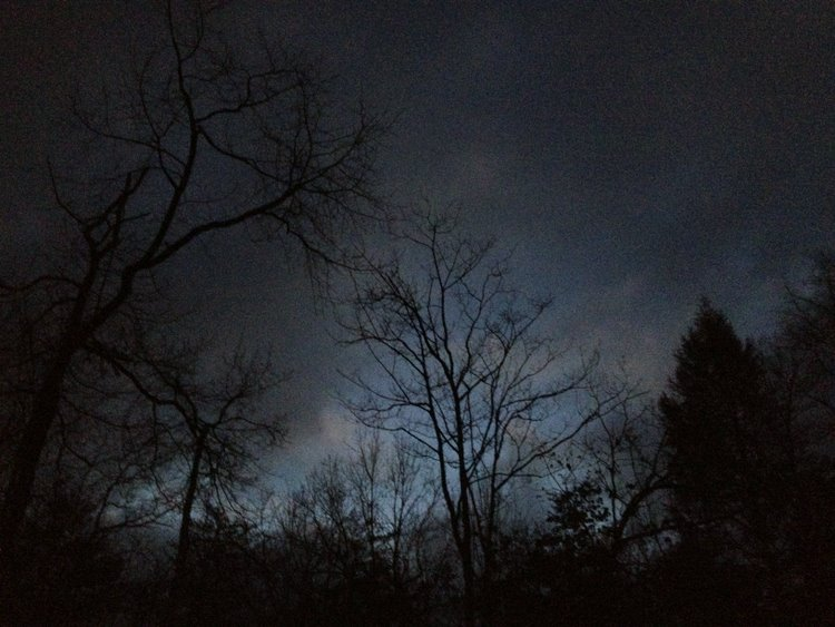 predawn sky - 30 dec 2012