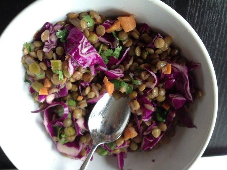 lentil salad - 15 apr 2013