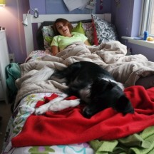 chloe is home - 15 oct 2014