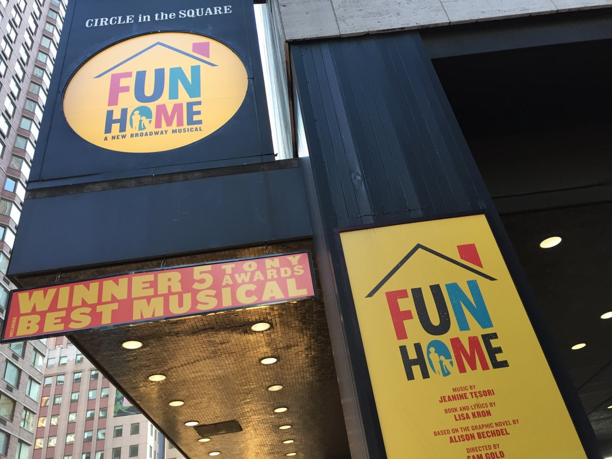 fun home - 11 jun 2016