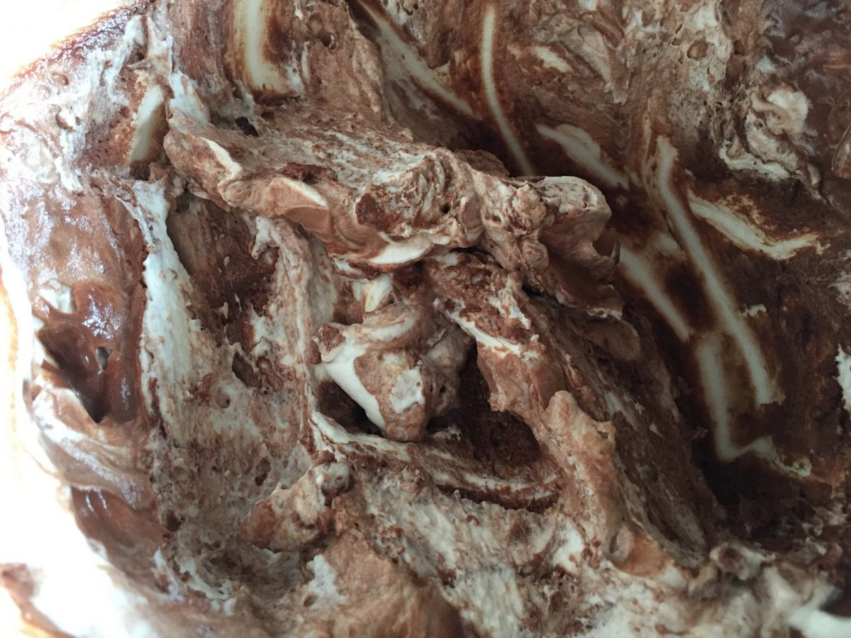 chocolate mousse - 3 apr 2017