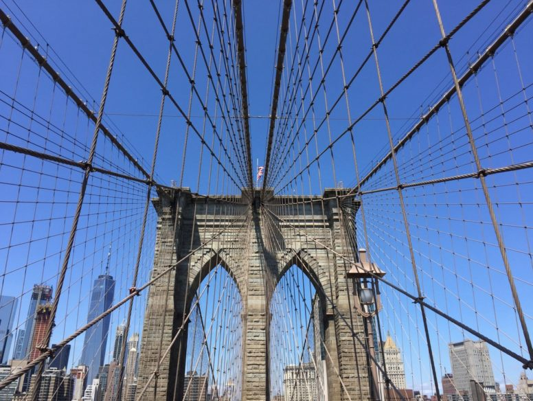 brooklyn bridge - 13 aug 2017