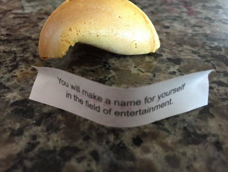 fortune cookie - 13 sep 2017