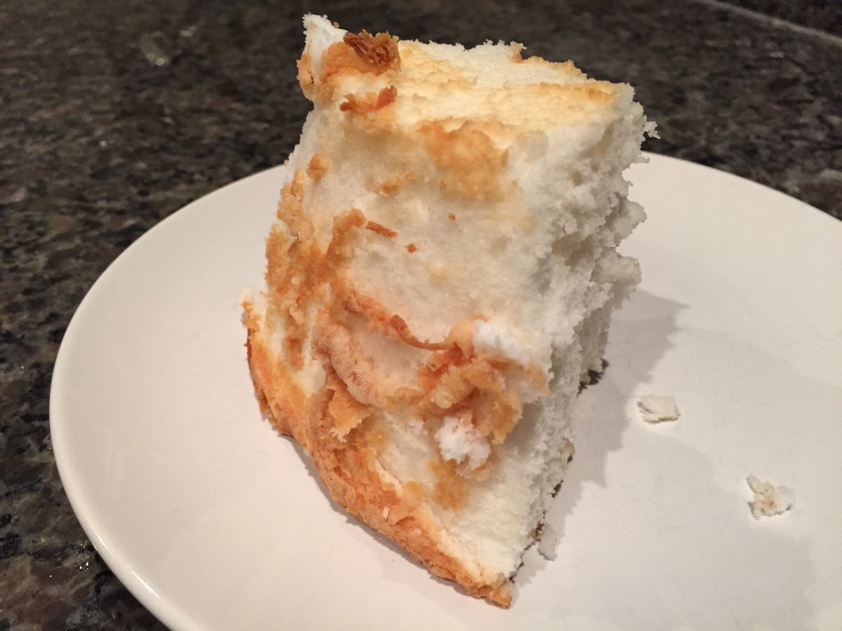 angel food cake - 10 oct 2017