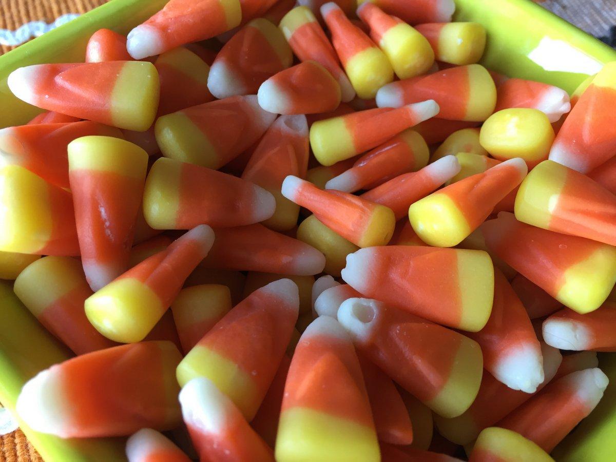 candy corn - 30 oct 2017