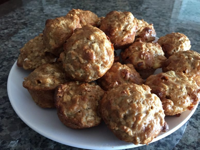 oatmeal muffins - 19 dec 2017